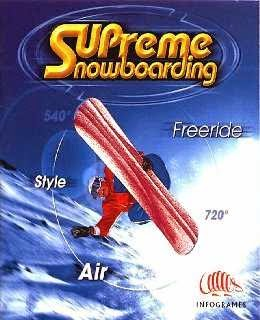 Supreme Snowboarding cover new