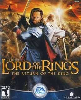 TLOTR - The Return of The King cover nea