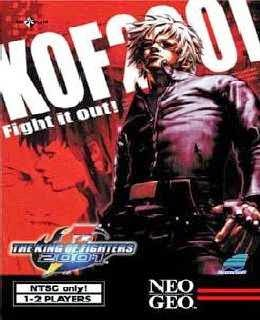 The King of Fighters 2001 cover new