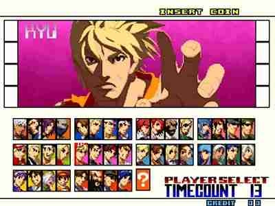 The King of Fighters 2001 Screenshot Photos 1