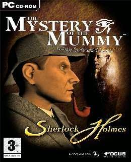 The Mystery of the Mummy cover new