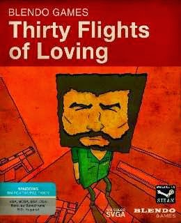Thirty Flights of Loving cover new