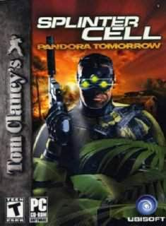 Tom Clancy's Splinter Cell Pandora Tomorrow / cover new