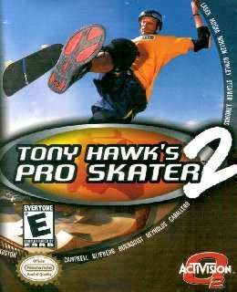 Tony Hawk's Pro Skater 2 cover new