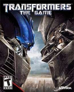 Transformers: The Game cover new