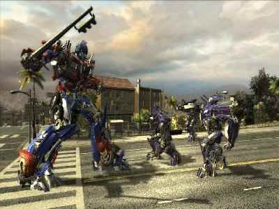 Transformers: The Game Screenshot Photos 2