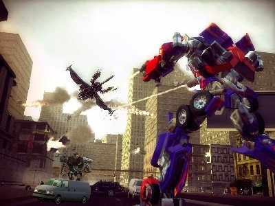 Transformers: The Game Screenshot Photos 3