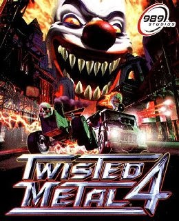 Twisted Metal 4 cover new