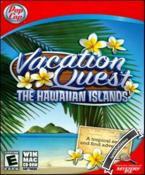 Vacation Quest The Hawaiian Islands / cover new