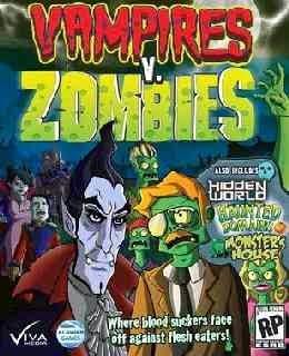 Vampires vs Zombies cover new