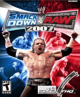 WWE SmackDown vs. Raw 2007 / cover new