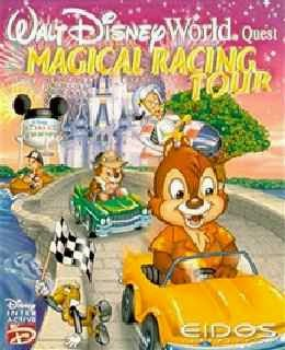 Walt Disney World Quest: Magical Racing Tour cover new