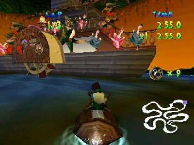Walt Disney World Quest: Magical Racing Tour Screenshot Photos 1